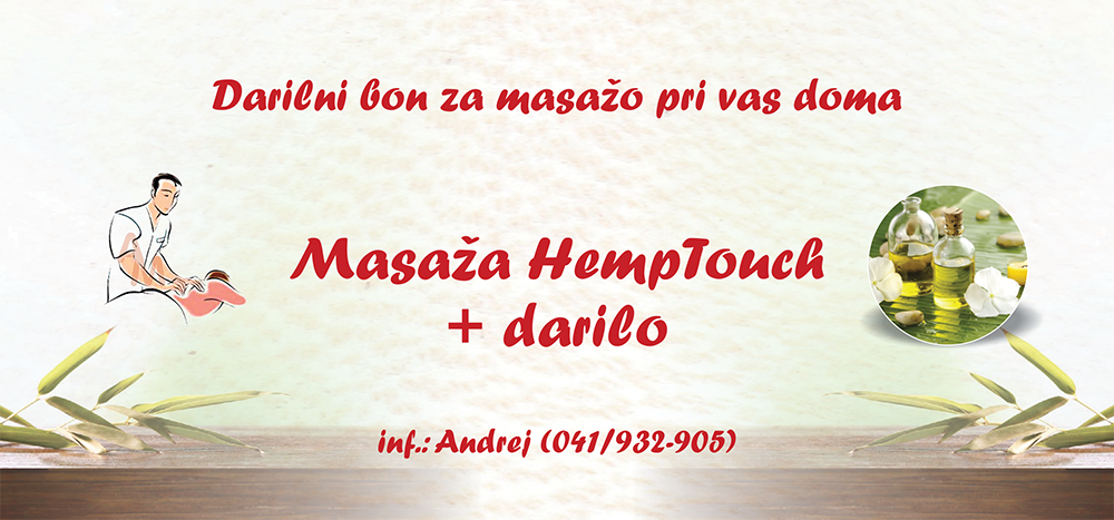 Bon za masažo hemptouch
